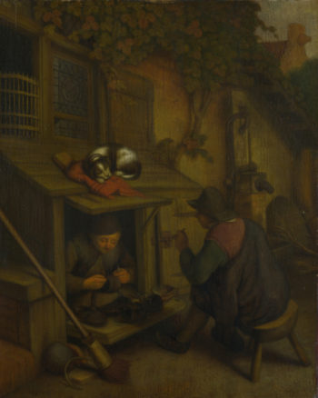 A Cobbler | After Adriaen van Ostade | oil painting