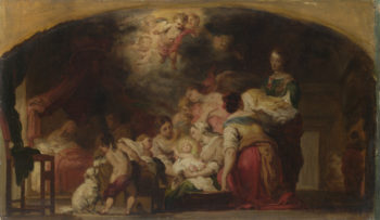 The Birth of the Virgin | After Bartolome Esteban Murillo | oil painting