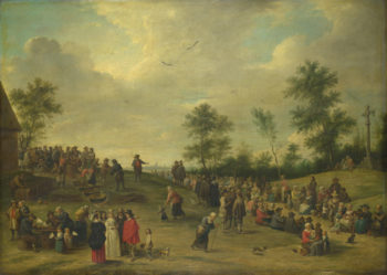 A Country Festival near Antwerp | After David Teniers the Younger | oil painting