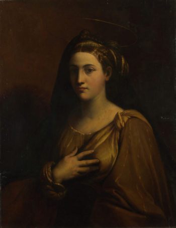 A Female Saint | After Dosso Dossi | oil painting