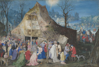 The Adoration of the Kings | Jan Brueghel the Elder | oil painting
