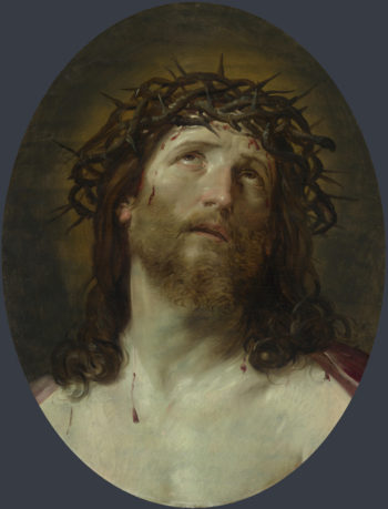 Head of Christ Crowned with Thorns | After Guido Reni | oil painting