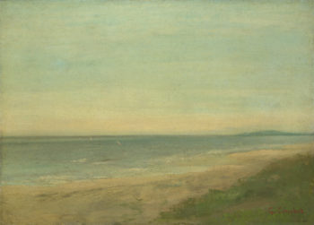 The Sea near Palavas | After Gustave Courbet | oil painting