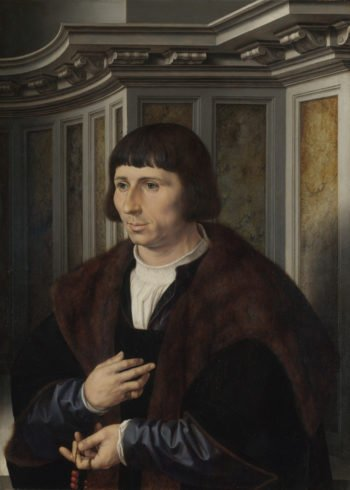 Man with a Rosary | Jan Gossaert | oil painting
