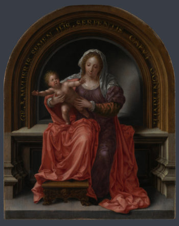 The Virgin and Child | Jan Gossaert | oil painting