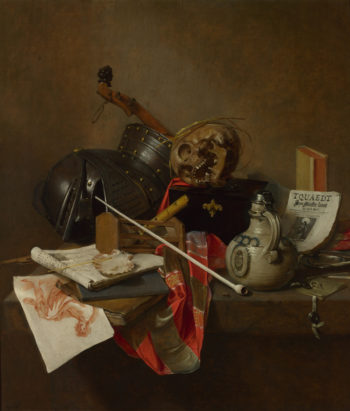 Vanitas Still Life | Jan Jansz. Treck | oil painting