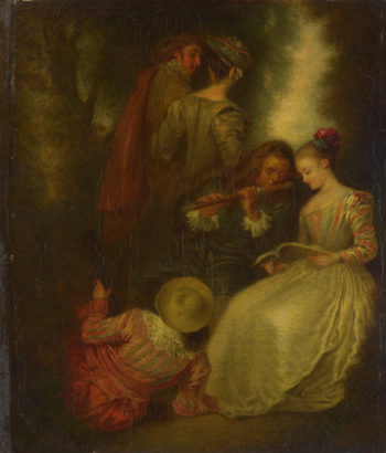 Perfect Harmony | After Jean-Antoine Watteau | oil painting