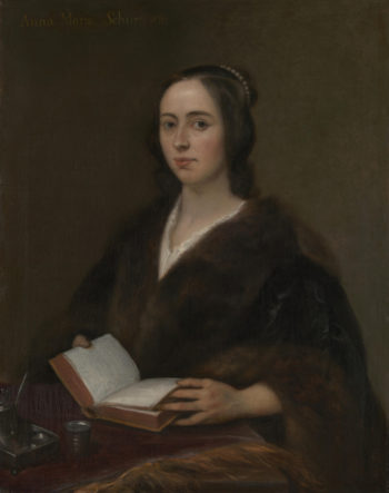 Portrait of Anna Maria van Schurman | Jan Lievens | oil painting