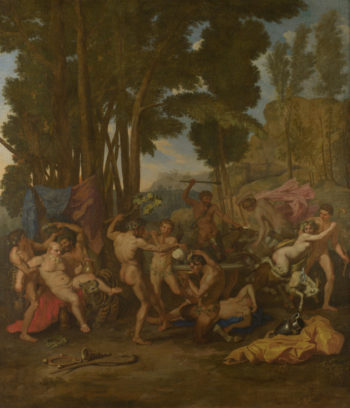 The Triumph of Silenus | After Nicolas Poussin | oil painting