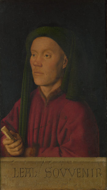 Portrait of a Man (Leal Souvenir) | Jan van Eyck | oil painting