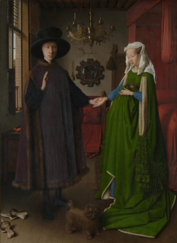The Arnolfini Portrait   Jan van Eyck   oil painting