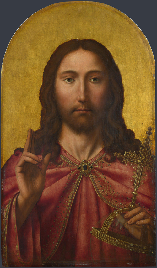 Christ   After Quinten Massys   oil painting