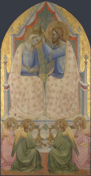 The Coronation of the Virgin | Agnolo Gaddi | oil painting