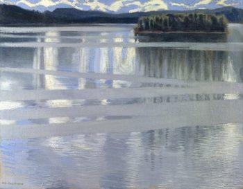 Lake Keitele | Akseli Gallen-Kallela | oil painting