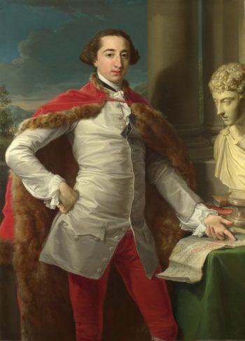 Portrait of Richard Milles | Pompeo Girolamo Batoni | oil painting