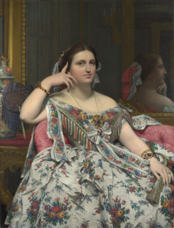 Madame Moitessier   Jean-Auguste-Dominique Ingres   oil painting