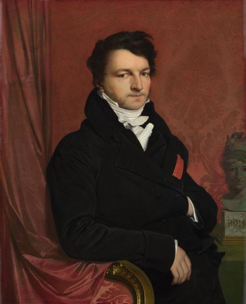Monsieur de Norvins   Jean-Auguste-Dominique Ingres   oil painting