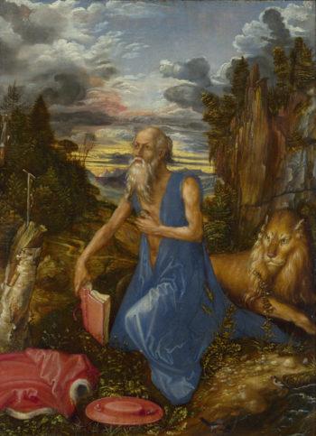 Saint Jerome | Albrecht Durer | oil painting