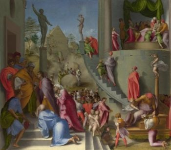 Joseph with Jacob in Egypt | Pontormo | oil painting