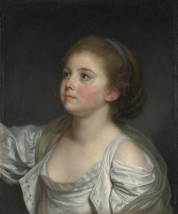A Girl | Jean-Baptiste Greuze | oil painting