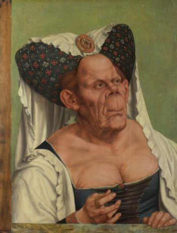 An Old Woman (The Ugly Duchess) | Quinten Massys | oil painting