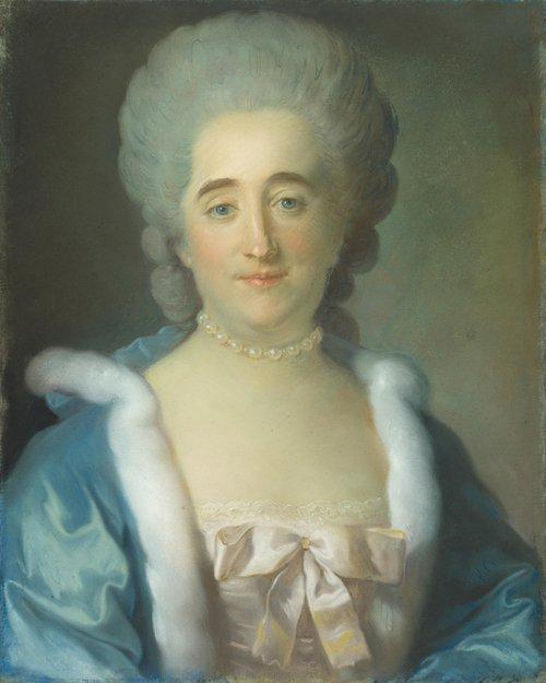 Portrait of a Woman   Jean-Baptiste Perronneau   oil painting