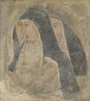 A Group of Poor Clares | Ambrogio Lorenzetti | oil painting