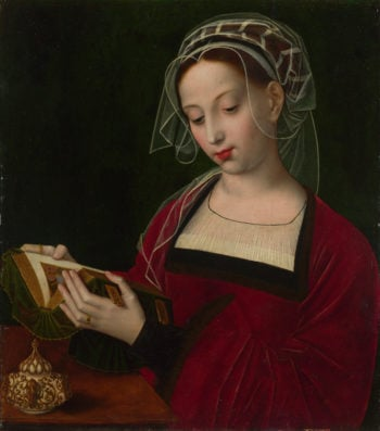 The Magdalen Reading | Ambrosius Benson | oil painting