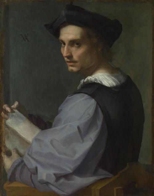 Portrait of a Young Man | Andrea del Sarto | oil painting