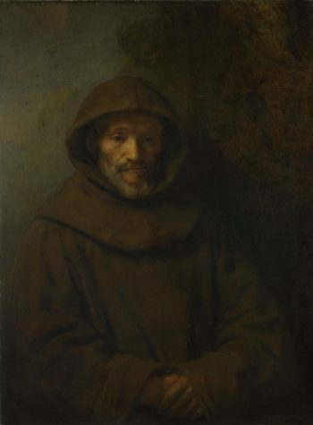 A Franciscan Friar | Rembrandt | oil painting