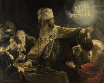Belshazzar's Feast | Rembrandt | oil painting