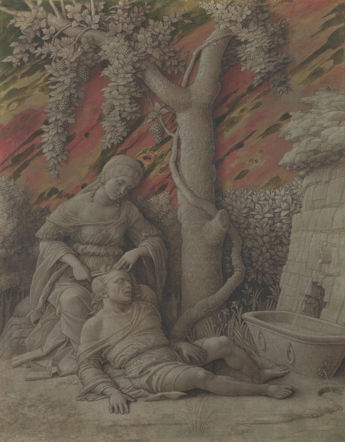 Samson and Delilah | Andrea Mantegna | oil painting
