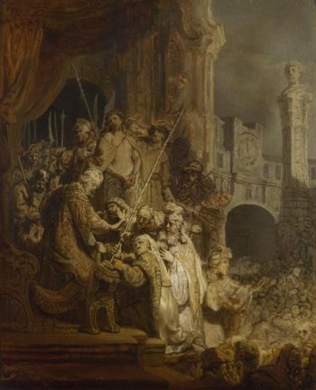 Ecce Homo | Rembrandt | oil painting