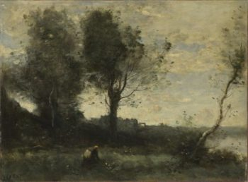 The Wood Gatherer | Jean-Baptiste-Camille Corot | oil painting