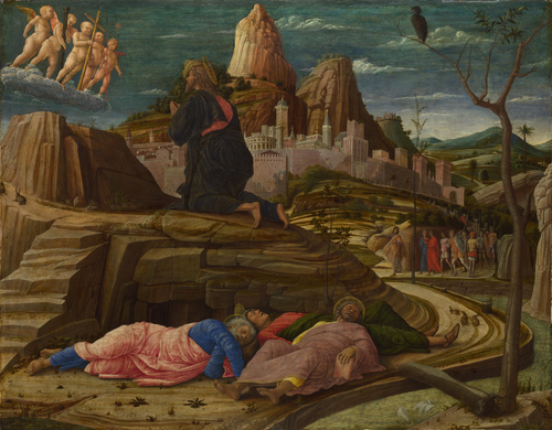 The Agony in the Garden | Andrea Mantegna | oil painting