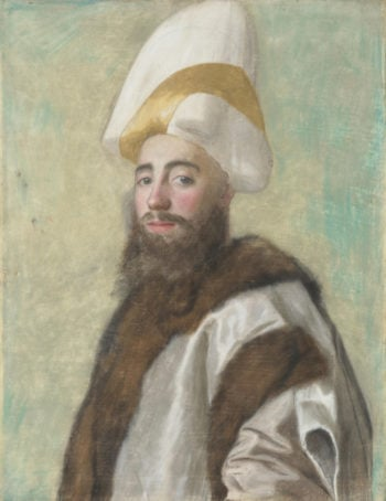 Portrait of a Grand Vizir | Jean-Etienne Liotard | oil painting