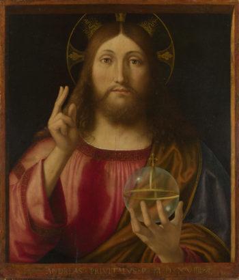 Salvator Mundi | Andrea Previtali | oil painting
