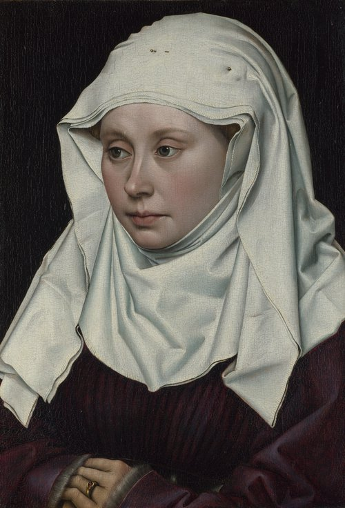 A Woman | Robert Campin | oil painting