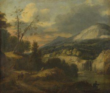 A Mountainous Landscape | Roelant Roghman | oil painting