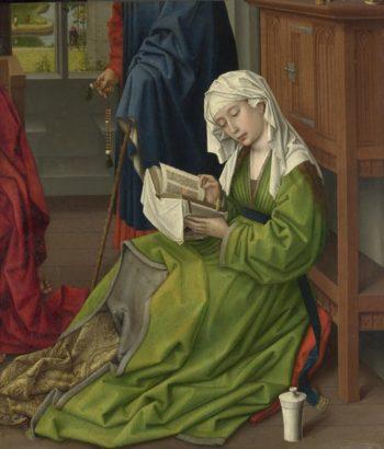 The Magdalen Reading | Rogier van der Weyden | oil painting