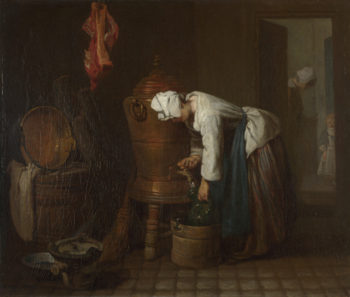 La Fontaine (The Water Cistern) | Jean-Simeon Chardin | oil painting