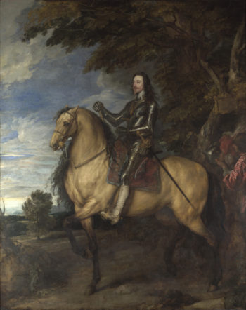 Equestrian Portrait of Charles I | Anthony van Dyck | oil painting