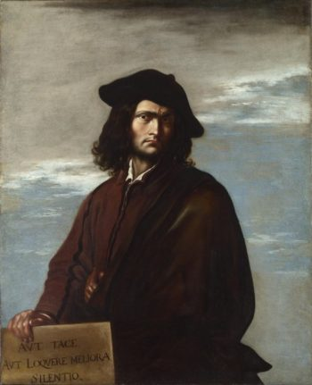 Self Portrait | Salvator Rosa | oil painting