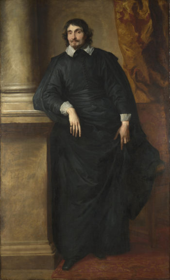 Portrait of the Abbe Scaglia | Anthony van Dyck | oil painting