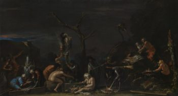 Witches at their Incantations | Salvator Rosa | oil painting