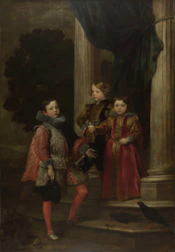 The Balbi Children | Anthony van Dyck | oil painting