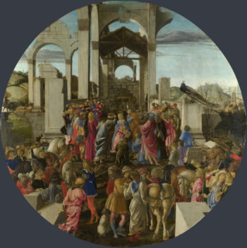 The Adoration of the Kings | Sandro Botticelli | oil painting