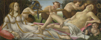 Venus and Mars | Sandro Botticelli | oil painting