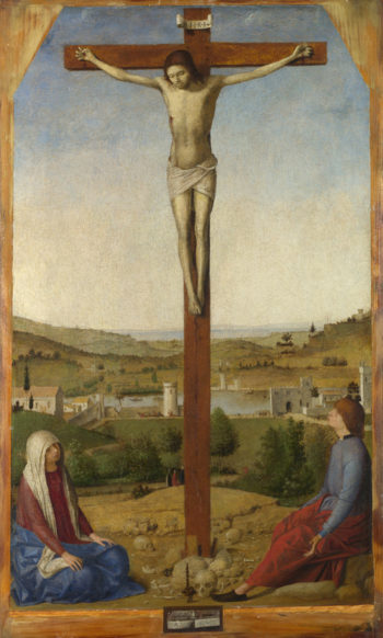 Christ Crucified | Antonello da Messina | oil painting