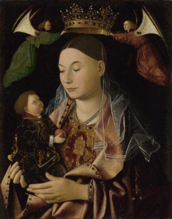 The Virgin and Child | Antonello da Messina | oil painting